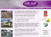 Oak Leaf Building Contractors | House Building & Extensions | by CMC Graphics