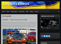 Thomas Erdos, Racing Driver |  by CMC Graphics