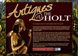 Antiques@TheHolt | Antiques & Collectors' Fair | by CMC Graphics