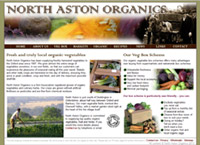 North Aston Organics | Organic Vegetable Growers & Distributors | by CMC Graphics
