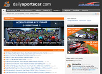 Dailysportscar | The world's leading news site for GT and sportscar racing | Supported by CMC Graphics
